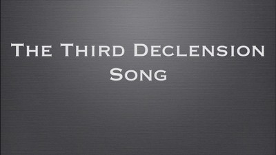 Singing Grammarian Video #4: 3rd Declension Song  [Video Download] -     By: H. Daniel Zacharias