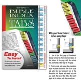 Verse Finders Horizontal Bible Tabs, Rainbow