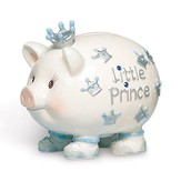 Crown Prince Piggy Bank