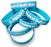 Proof Pirates Wristband, pack of 10