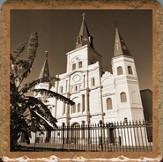 St Louis Cathedral Trivet