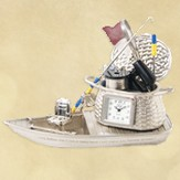Fishing Boat Clock