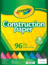 Crayola Construction Paper, 96 Count