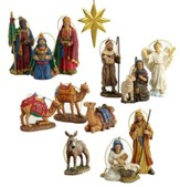 Real Life Nativity Ornament Collection