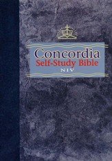 NIV Concordia Self-Study Bible, Hardcover  1984