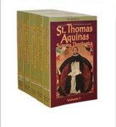 The Summa Theologica of Thomas Aquinas, 5 Vols.  - Slightly Imperfect
