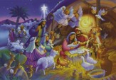 Heavenly Night, Nativity Advent Calendar