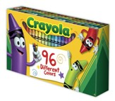 Crayola, Crayons, with Sharpener, 96 Pieces
