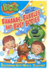 Boz The Green Bear Next Door: Thank You God for Bananas,  Bubbles and Busy Bodies DVD