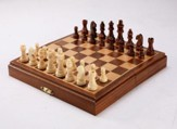 Magnetic Folding Chess, 8 inch