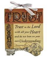 Trust In the Lord Plaque, Key