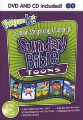 Sunday Praise Toons- DVD with bonus CD