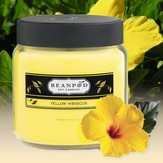 8 oz. Jar Candle Yellow Hibiscus