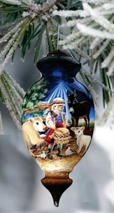 Little Drummer Boy, Ne'Qwa Art Ornament