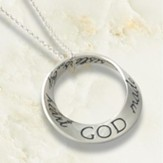 God Made Us Sisters by Heart Mobius Necklace