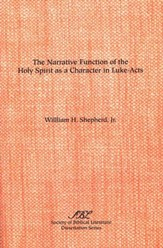 The Narrative Function of the Holy Spirit