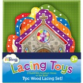 Inspirational Wood Lacing Toys