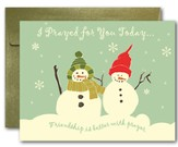 Blank Notecards, Snow Friends, Pack of 10
