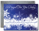 Blank Notecards, Snowflakes, Pack of 10