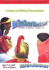 Do You Know Who I Am? CD-ROM Game