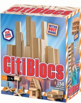 Natural Building Blocks, 50 Pieces
