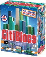 Cool Color Building Set, 200 Pieces