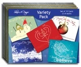 Blank Notecards, Winter Variety, Pack of 10