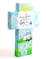Canvas Wall Cross. Child, Large