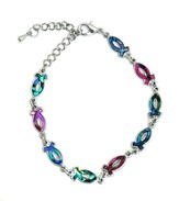 Paua Shell Ichthus Anklet
