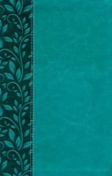 NKJV Gift Bible, Leathersoft Rich Turquoise