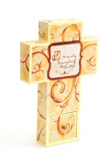 Canvas Wall Cross, Family, Small