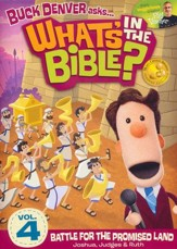 What's in the Bible? #4: Battle for the Promised Land! DVD
