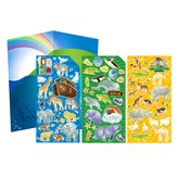 Noah's Ark, Sticker Set, 75 Pieces