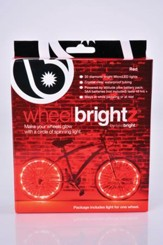 Wheel Brightz Lights, Red