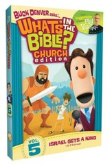 What's in the Bible? #5: Israel Gets a King! - Church Edition, DVD
