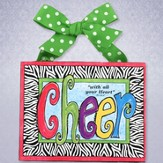 Cheer With All Your Heart Plaque