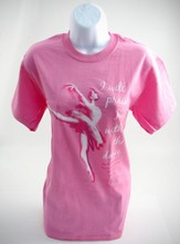 Praise Dancing Shirt, Pink  Medium (38-40)