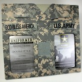 US Army Double Frame with God Bless America Tape
