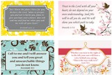 God's Plan Verses Wall Cards, Pack of 4