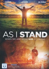 As I Stand, DVD