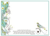 Birds of the Air, Vinyl Fabric Dry Erase Board
