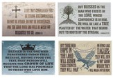 Verses of Hope Wall Cards, Pack of 4