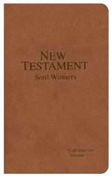 KJV Soul Winners Pocket New Testament, Brown