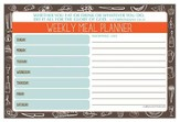 Do All to the Glory of God Menu Planner