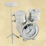 Drum Set Desk Clock, Psalm 92:1