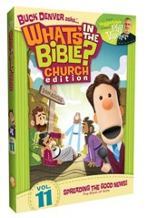 What's in the Bible? #11: Spreading the Good News -  Church Edition, DVD