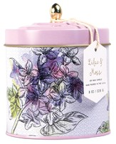 Dome Tin Candle, Lilac and Moss, 8 ounce