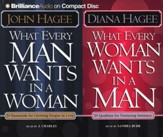 What Every Man Wants in a Woman/What Every Woman Wants in a Man - Audiobook on CD
