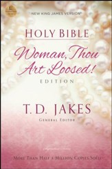 NKJV Woman, Thou Art Loosed Bible, softcover - Slightly Imperfect