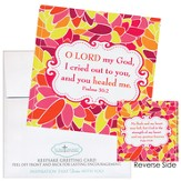 O Lord, My God Notecard Sticker